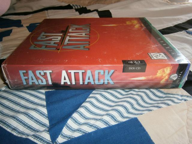 Fast Attack PC game Big Box SEALED