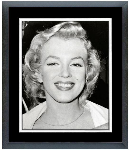 Marilyn Monroe Circa 1956 - 11 x 14 Matted/Framed Photo
