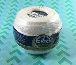 DMC Cebelia 50g Blanc N 30 Crochet Thread 100% Cotton  - $5.93