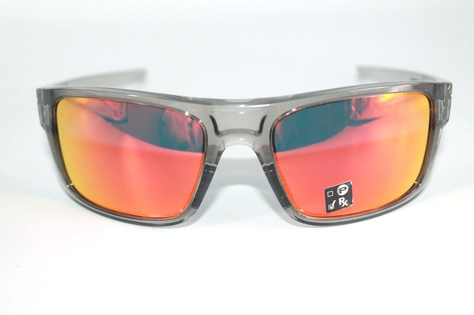 29baf207bc0 Oakley Drop Point Sunglasses OO9367-0360 Grey Ink Frame W  Ruby Iridium Lens