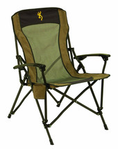 Browning Camping Fireside Beach Chair w/ Pro-Tec Powder Coating Finish Foldable - $93.15
