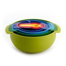 Joseph Joseph Nest Multicolour Ultimate Compact Food Preparation Set Mix... - $61.95