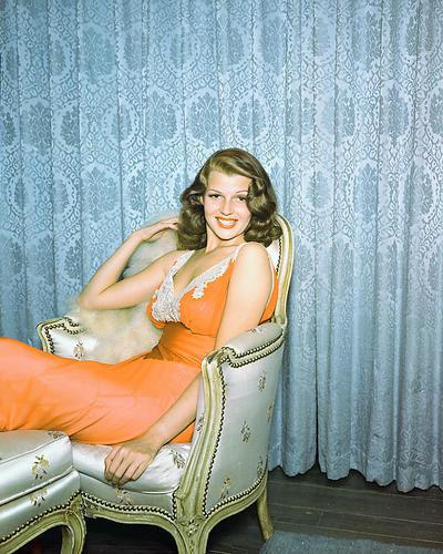 Rita hayworth poster color 24x36