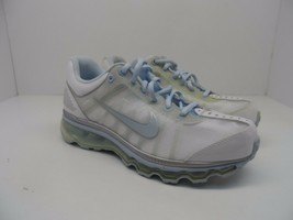 Nike Girl's Air Max 2009 (GS) Athletic Running Shoe White/Pearl Blue Siz... - $28.49