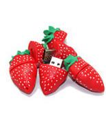 8GB USB Flash Drive Memory Stick : STRAWBERRY - - $27.00