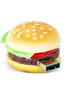 8GB USB Flash Drive Memory Stick : ALL-DRESSED HAMBURGER - - $27.00