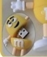 An 8GB USB Flash Drive Memory Stick : YELLOW FRIEND - - $27.00