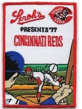 Beer Baseball Cincinnati Reds & Stroh's Beer National League 1977 Promo Patch 4. - $9.99