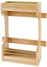 Rev-A-Shelf Small Sink Base Organizer Door Storage, Natural - $46.53