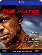 Die Hard Collection 1-4 (Blu-ray Disc, 2007, 4-Disc Set)