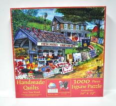 Handmade Quilts Jigsaw Puzzle 1000 Piece - $19.76