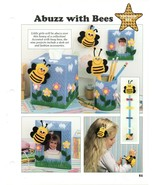 Plastic Canvas Patterns - Abuzz With Bees - Younger Set - All-Stars - $1.50