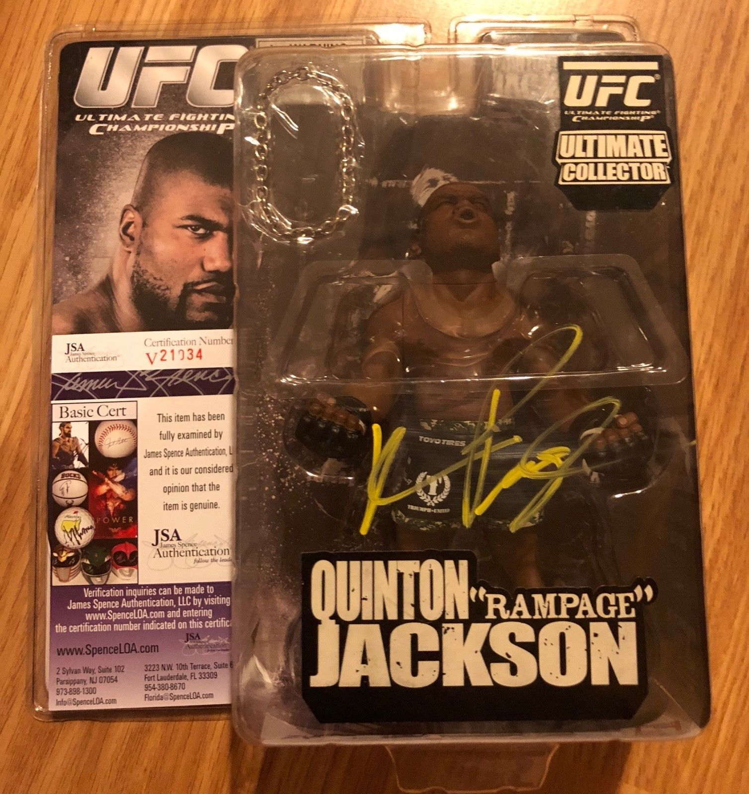 New World Of MMA Quinton Rampage Jackson Action Figure