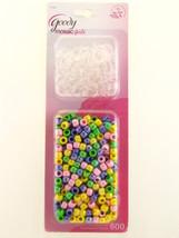Goody Mosaic Girls Elastics & Beads Set   600 Pk. - $5.49