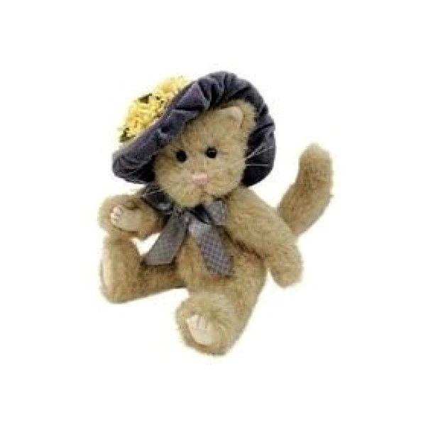 "Boyds Bears ""Rowena Prissypuss"" 8"" Plush Cat -#915601- NWT-2001- Retired"