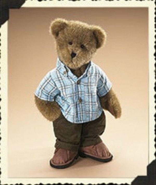 "Boyds Bears ""Kellan LaBrewin"" 14"" Plush Bear-  #904621- NWT-2007- Retired"