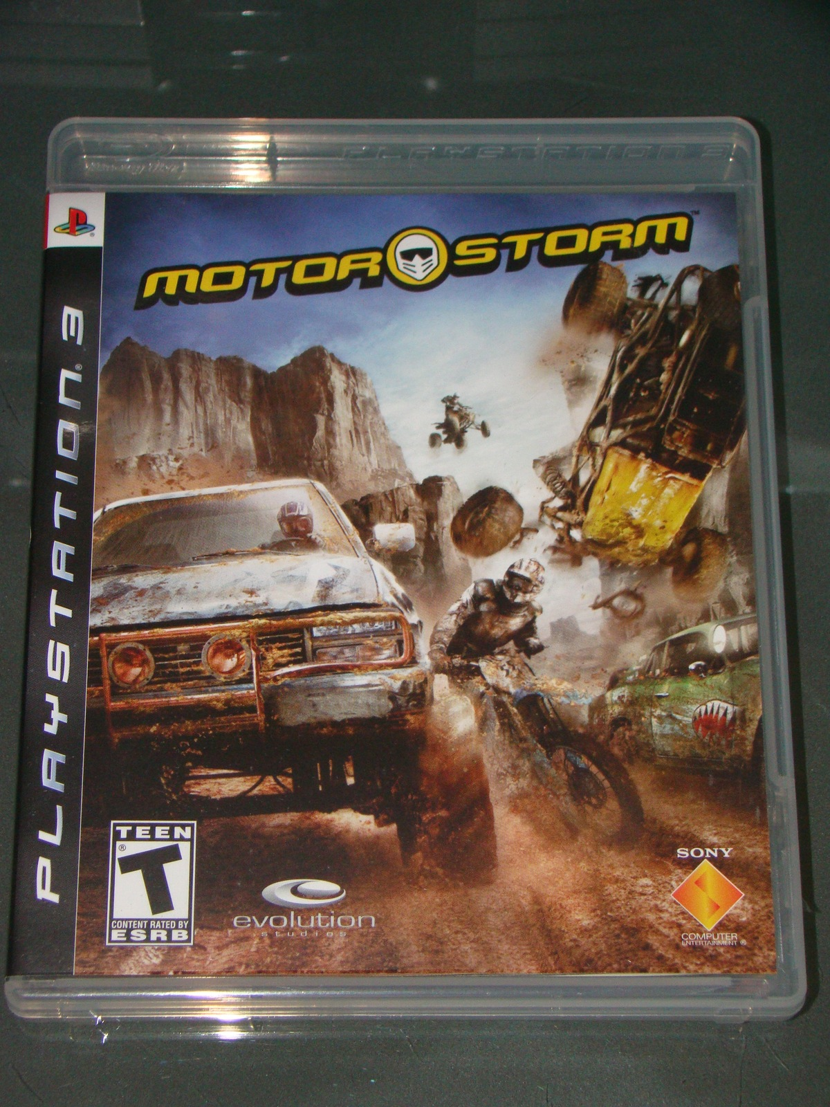 Playstation 3 - MOTOR STORM (Complete with Instructions)