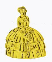 Crinoline Lady Bell  forged brass by Baldwin - $23.50
