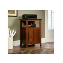 Cabinet Standing Washington Cherry Wood Shelf S... - $195.99