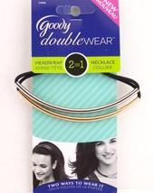 Goody Doublewear 2 In 1 Headwrap/Necklace    2 Pcs.  - $6.99
