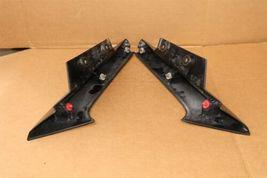 17-18 Nissan Rogue Rear Quarter Taillight Moldings Trims Extensions L&R image 6
