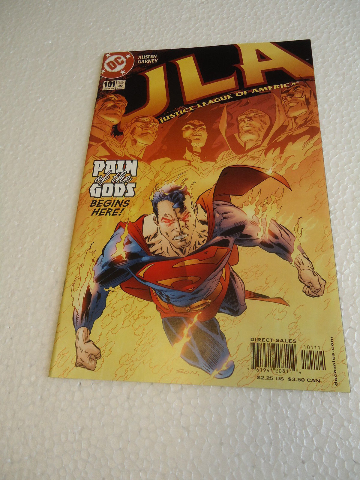 JLA # 101 NM 2004  DC Comics PAIN OF THE GODS BEGINS HERE!JLA # 101 NM 2004  ...