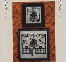 Midnight Manor One Color Wonders WM159 cross stitch chart Waxing Moon Designs - $7.20