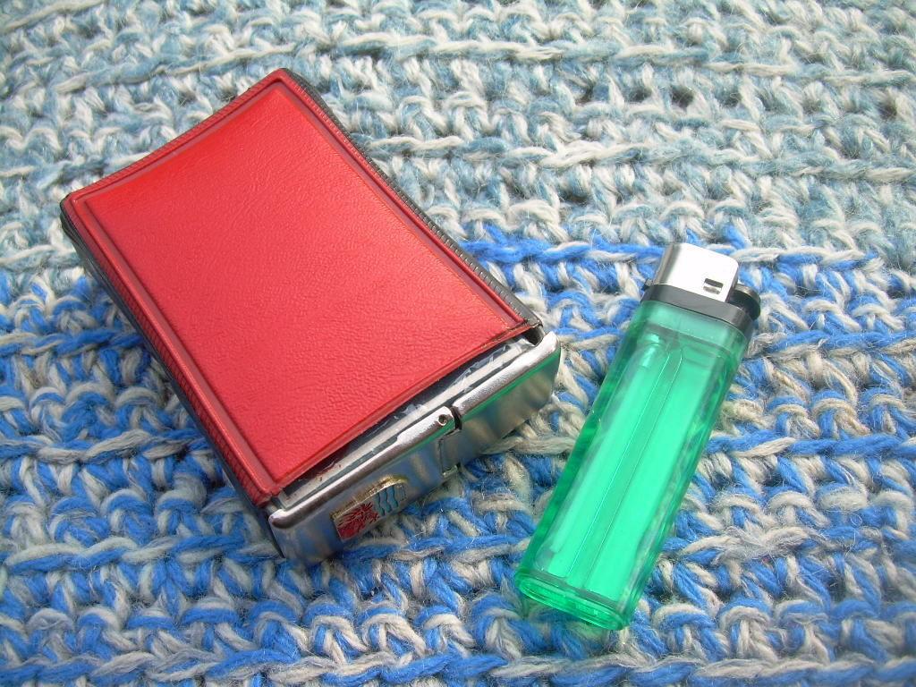 Rare Vintage Polish Soft Pack Regular Size Cigarettes Holder SLUPSK
