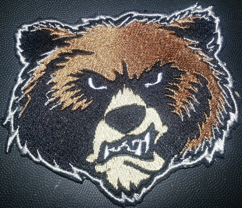 Montana Grizzlies logo Iron On Patch