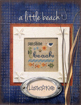 A Little Beach Kit LK69 christmas cross stitch kit Lizzie Kate - $12.60