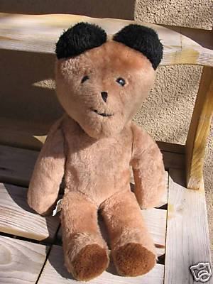 Vintage RARE Eden Plush PADDINGTON TEDDY BEAR