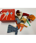 1966 Mattel Ballet Box 5023 with some random doll items - $14.01