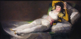 """""""Maja Dressed """"  Jose Francisco Goya Lucientes - $29.39"""