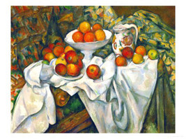 """Apples and Oranges"" Paul Cezanne Print - $27.44"