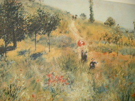 "Auguste Renoir ""A Way through the Meadows"" Print - $38.21"