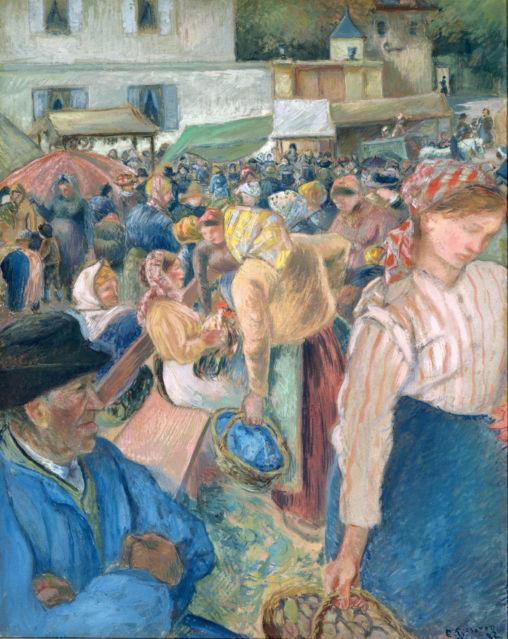 Print Pissaro' People