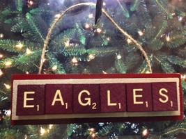 Boston College Eagles Scrabble Tiles Christmas Ornament Rear View Mirror - $8.90