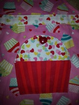 Girl's Apron for child , Cupcakes , Hearts, Rainbow , New with Tags , Ad... - $19.99