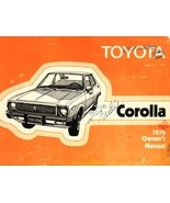 1979 Toyota COROLLA owner's manual book guide - $7.99