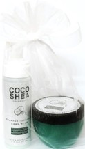 Bath & Body Works Coco Shea Cucumber Foaming Body Wash  & Body Butter Gi... - $23.26