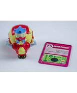 BURGER KING THE ROBOTS MOVIE AUNT FANNY FIGURE & METAL CARD 2005 KIDS ME... - $6.92