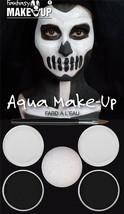Black/White Aqua Makeup Kit, Fancy Dress Party Costume Makeup #AU - $8.08
