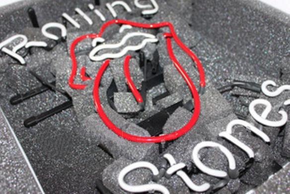 "Rolling Stones Music Beer Bar Neon Light Sign 16"" x 12"""