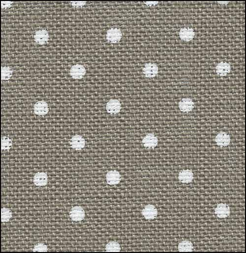 32ct Dk Creek Cobblestone White Petit Point Belfast linen 36x55 fabric Zweigart