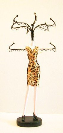 Gold Slim Anima Dress Mannequin Jewelry Organizer