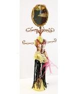 Purple Dress Mannequin Jewelry Organizer with Mirror - $29.21