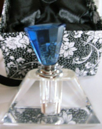 Decorative Vanity Glass Perfume Bottle