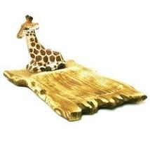 Giraffe Basswood Platter - $29.21