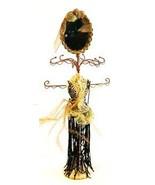 Black & Gold Dress Mannequin Jewelry Organizer with Mirror - $29.21