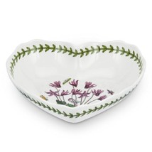 Portmeirion Botanic Garden Scalloped Edge Heart... - $28.71